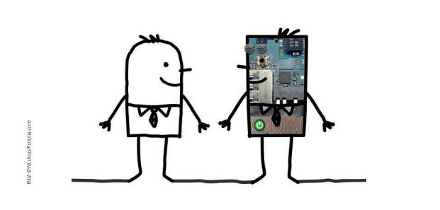 Gespann Mensch und Maschine