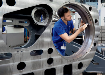SAP integriertes Maschinenfabrik