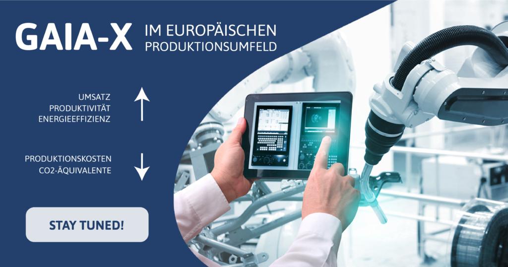 GAIA X im Europaeischen Produktionsumfeld IGH Infotec ist Projektpartner