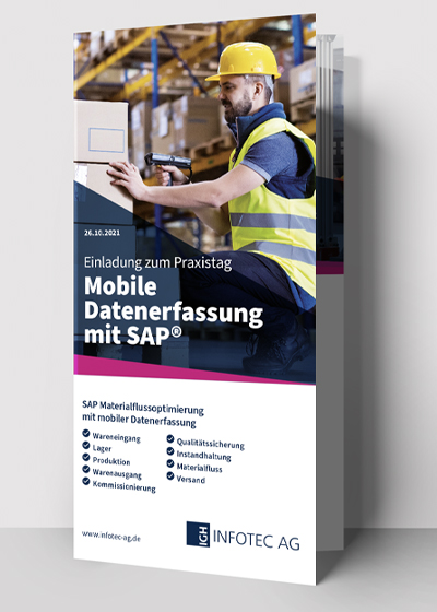 Mobile Datenerfassung in SAP IGH Infotec AG
